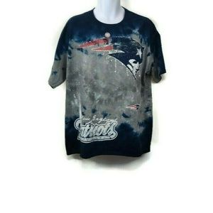 New England Patriots Tie-Dye T-shirt XL